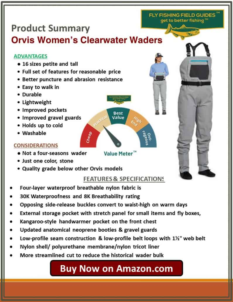 Orvis Womens Clearwater