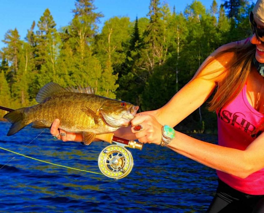 fly rod for smallmouth bass